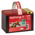 Droge batterij High Energy 9V-75Ah