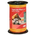 TopLine Plus schriklint geel/oranje 1cm 200m